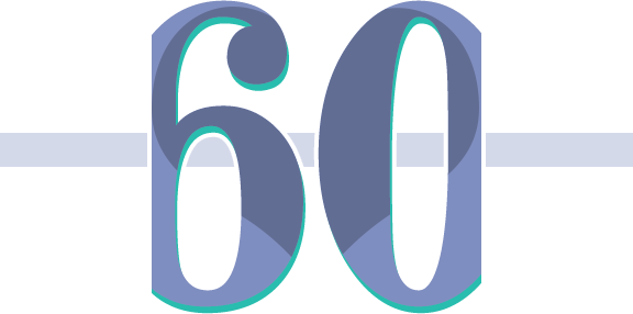 Icône de 60 ans pour l'assurance vie pour aînés chez Soumissions pour les aînés.