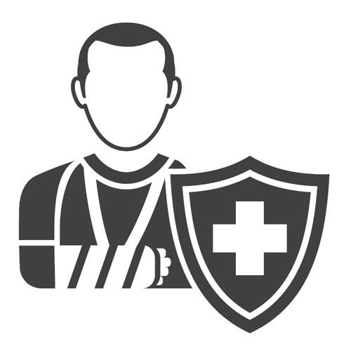 Pour des adultes de 50 ans, 65 ans ou plus, l'assurance invalidité est une bonne protection en cas d'accident.